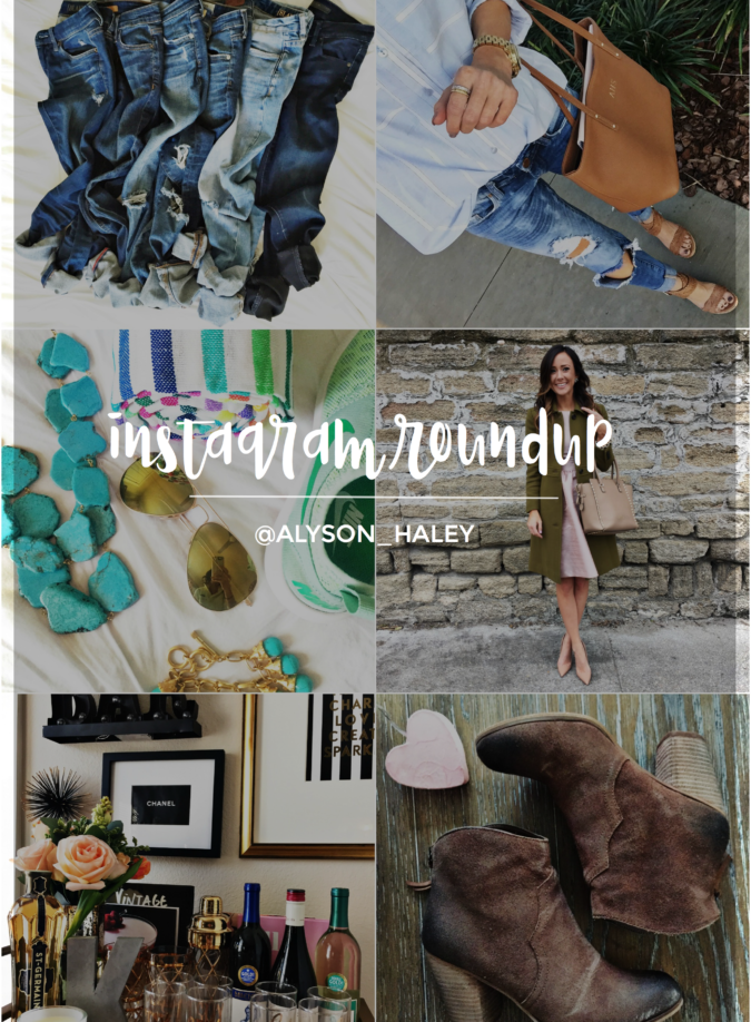 alyson haley, spring things, turquoise, hues of blue, alyson_haley, @alyson_haley, instagram roundup, instagram recap, instagram rewind, instagram selfies, instagram selfie, outfit of the day, #ootd, ootd, what i wore, style blogger instagram, style blogger, outfit selfie,