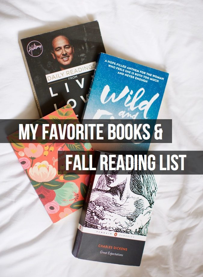 book recommendations, fallreadinglist