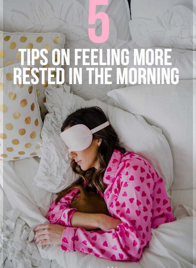healthy living, lifestyle, how to wake up feeling more rested