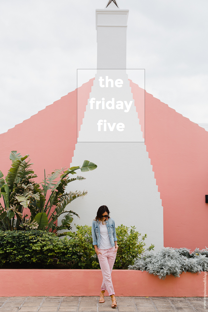 the friday five, friday five