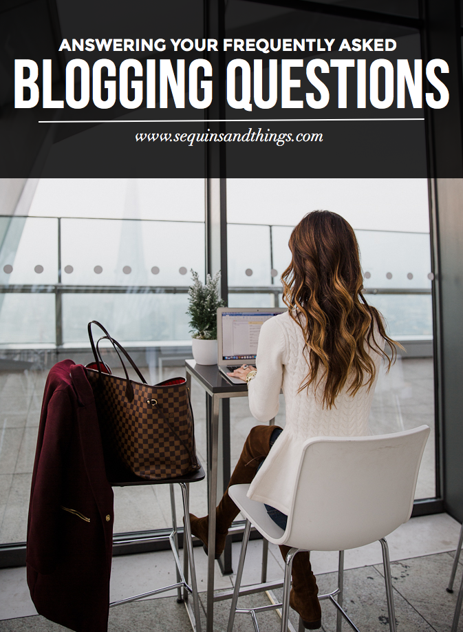 blogging frequently asked questions, blogging faq