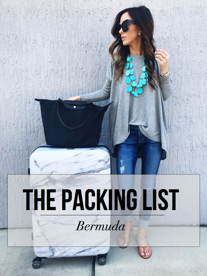 what to pack for a trip to bermuda, bermuda packing list, bermuda packing guide, bermuda