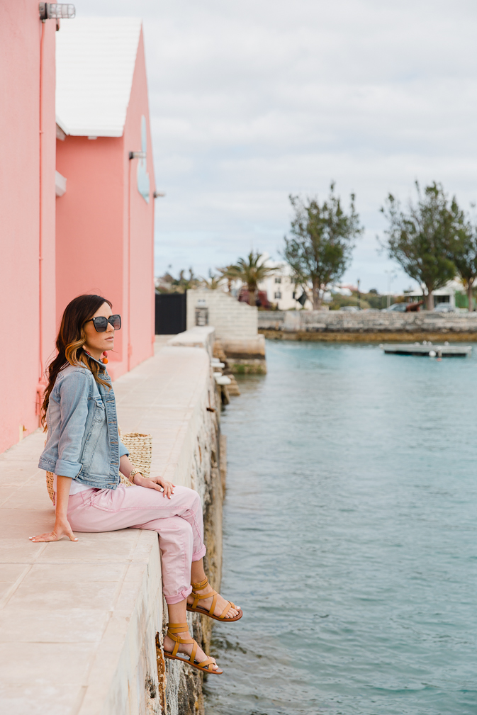 sequins and things, alyson haley, bermuda, bermuda triangle, st. george, st. george island, travel style, summer vacation style, summer vacation, summer getaway, summer travel, spring travel, spring break, where to go for spring break, statement jewelry, travel style, travel outfit