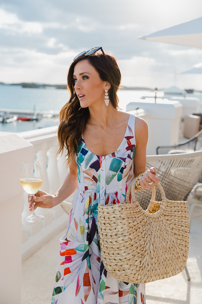 mara hoffman, spring fashion, spring style, bermuda, spring dresses, colorful dresses