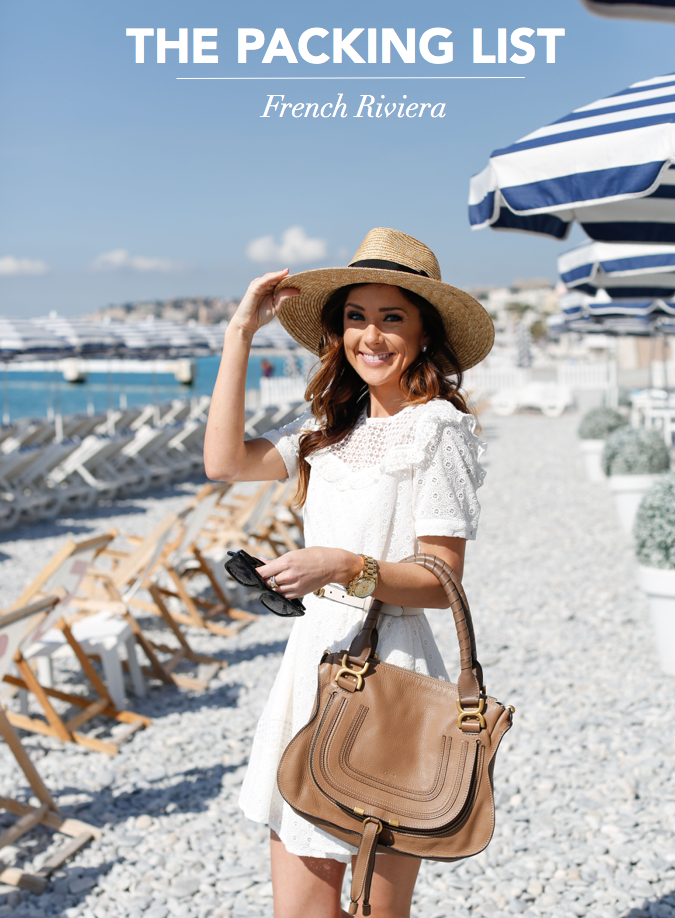 what to pack for nice, french riviera, cote d'azur