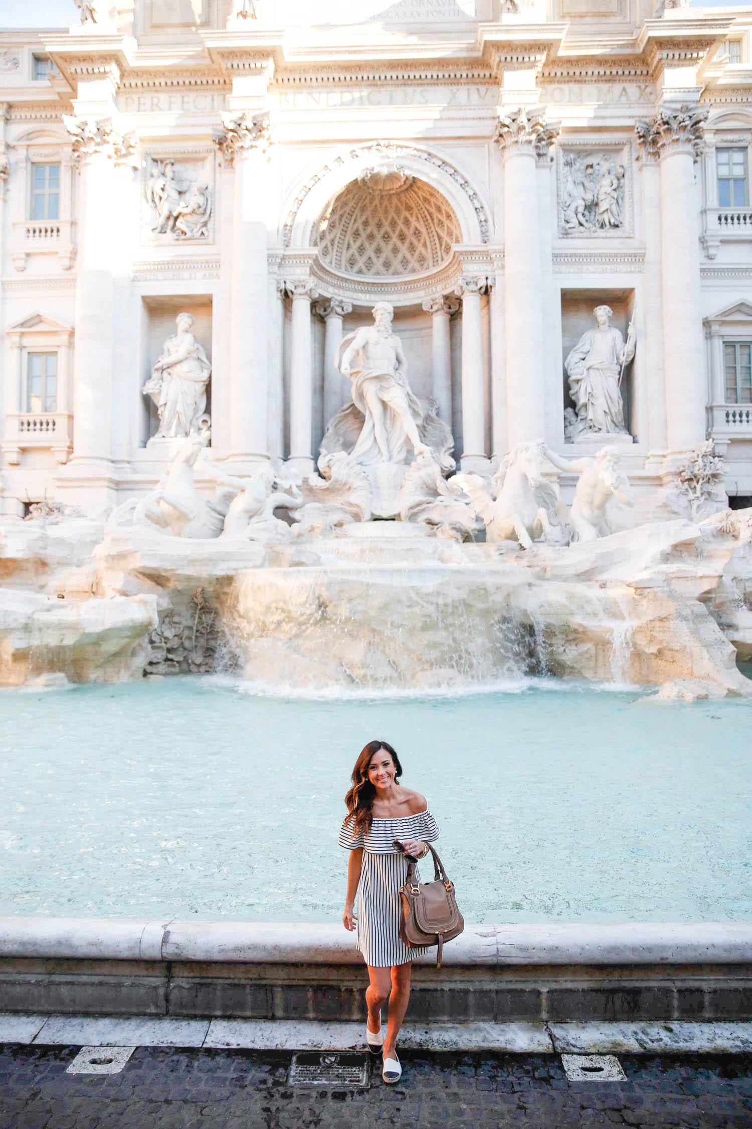 rome, italy, trevi fountain