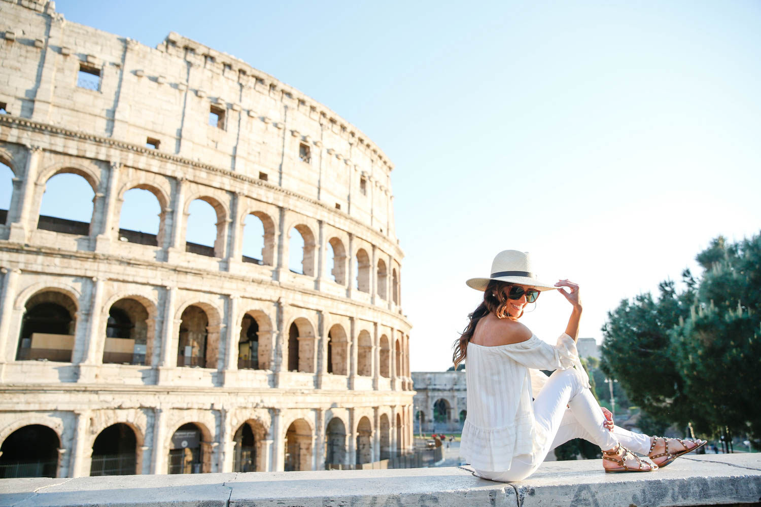 rome, italy, what to wear in rome, colosseum