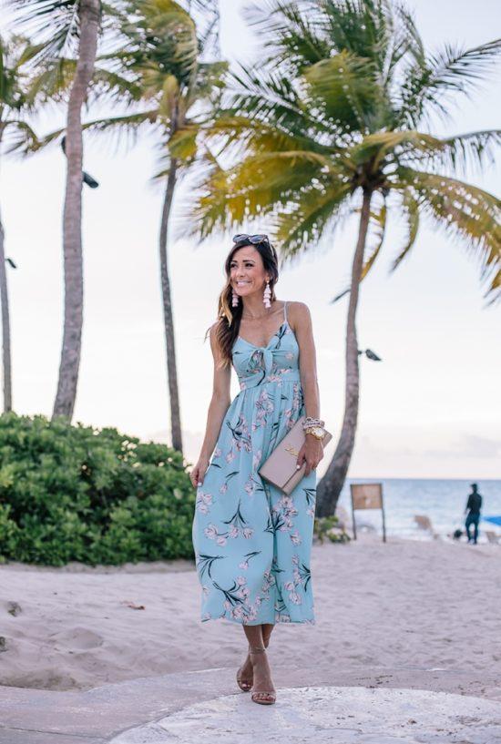 san juan, puerto rico, tropical beaches, summer travel, summer vacation, the ritz carlton, the ritz, outfits, summer dresses, summer style, summer fashion, summer outfit idea