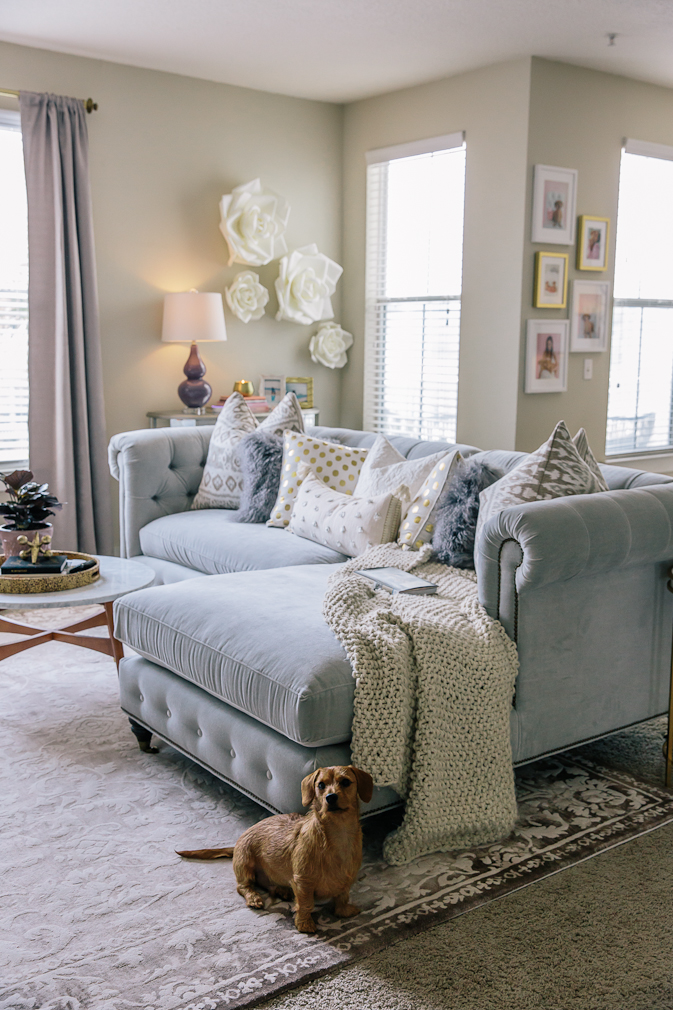 sequins and things home, alyson haley home decor, alyson haley home, alyson haley living room, sequins and things living room, home decor, interior design, glam home decor, cozy home decor