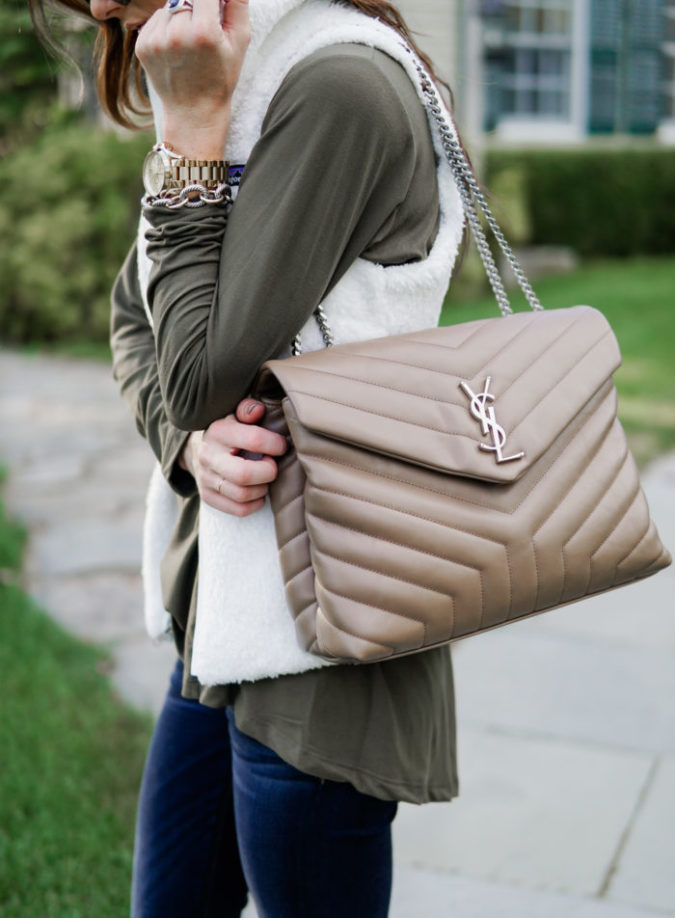 fall outfit inspiration, ysl handbag, fall style, fall fashion, connectcut