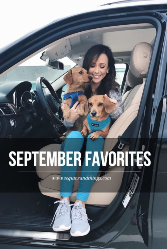 september favorites, monthly favorites, sequins and things, sequins & things, alyson haley