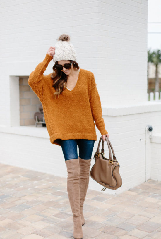 thanksgiving day outfit inspiration, sweater weather, free people sweater, winter outfit inspiration, holiday style, sequins and things, sequins & things, alyson haley