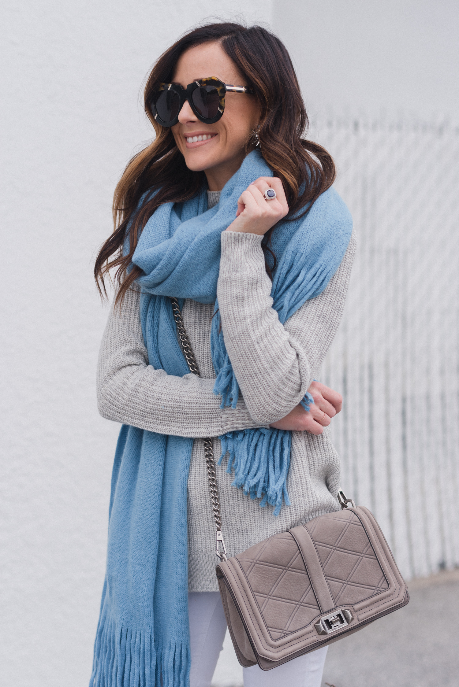 winter outfit inspiration, free people, free people scarf, alyson haley