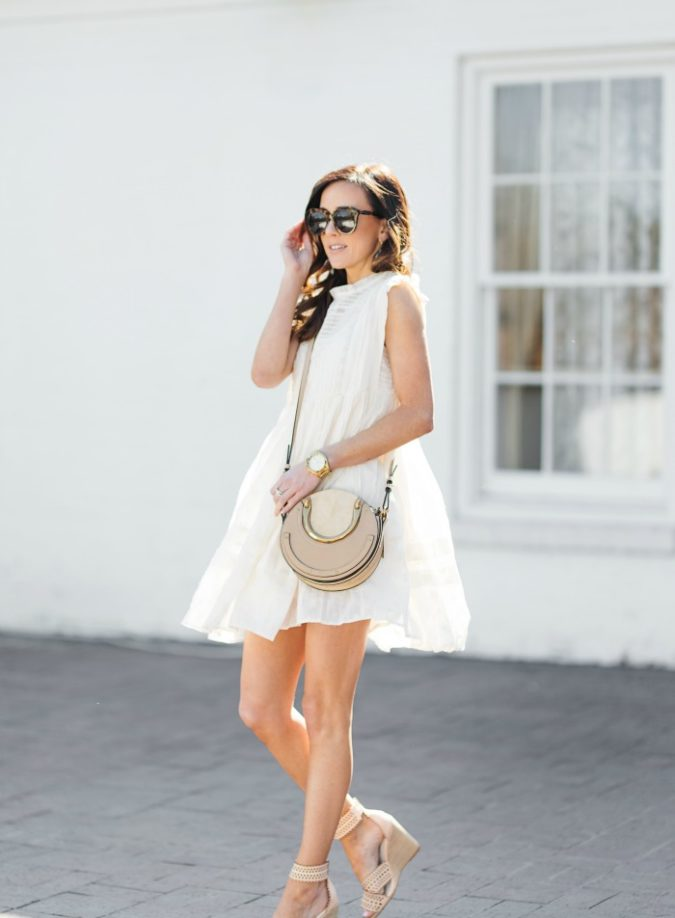 spring dress, spring dresses, free people, jeffrey campbell, chloe pixie handbag