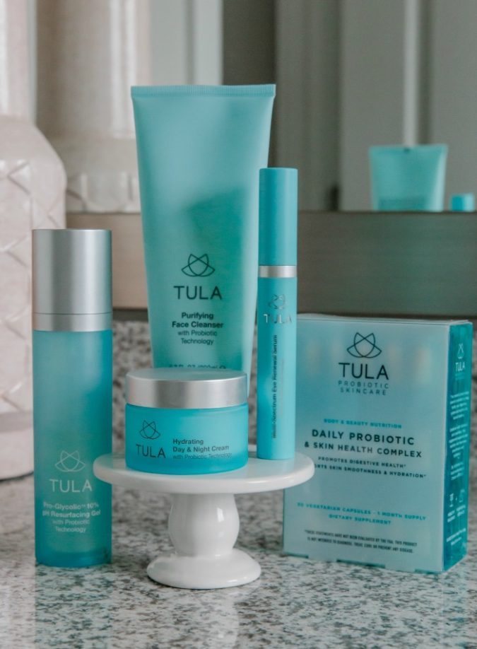 skin care routine, skincare routine, tula skincare products, tula, sequins and things skin, sequins and things skincare,