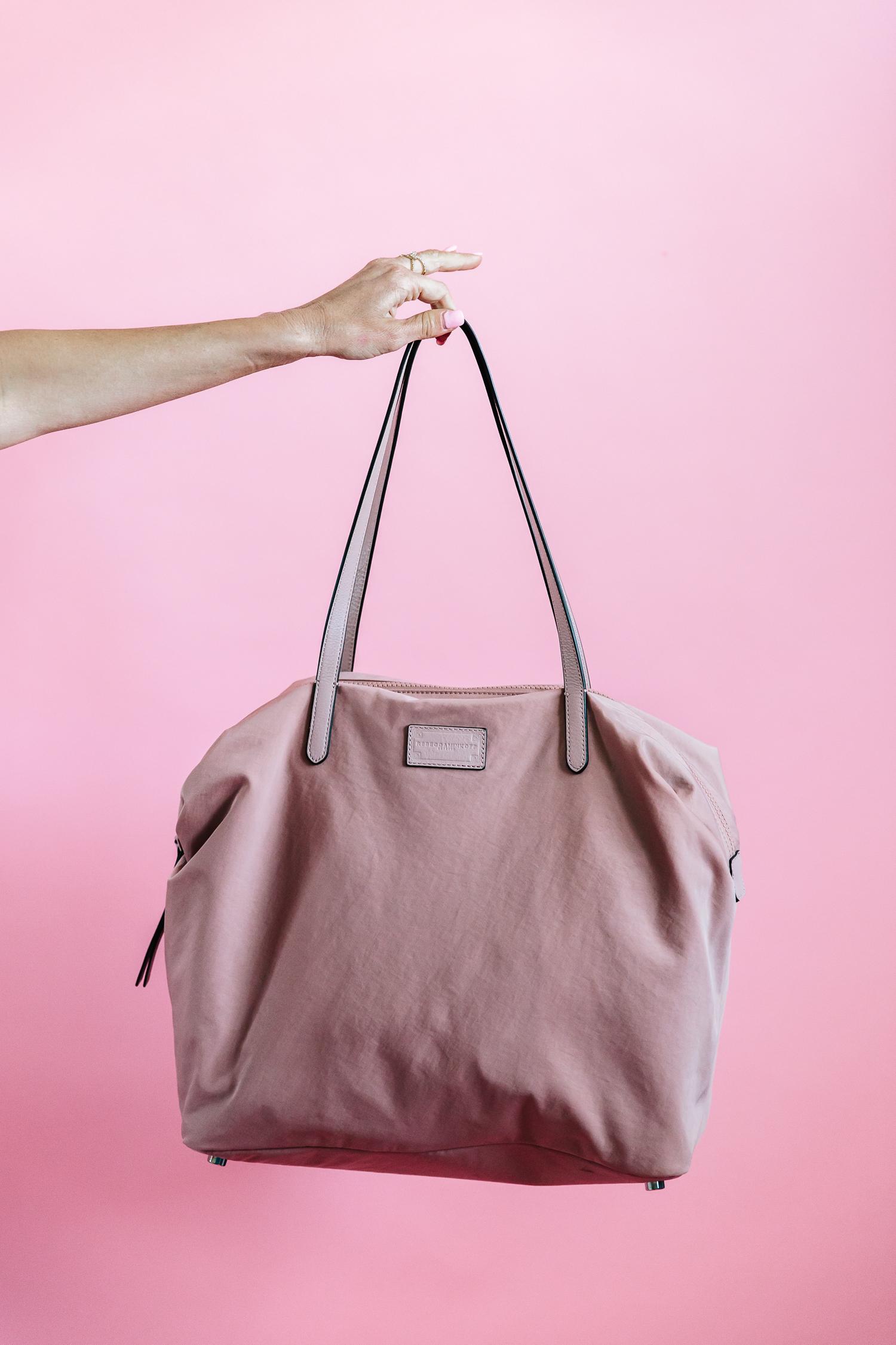 rebecca minkoff, alyson haley, rebecca minkoff nylon tote, travel bags
