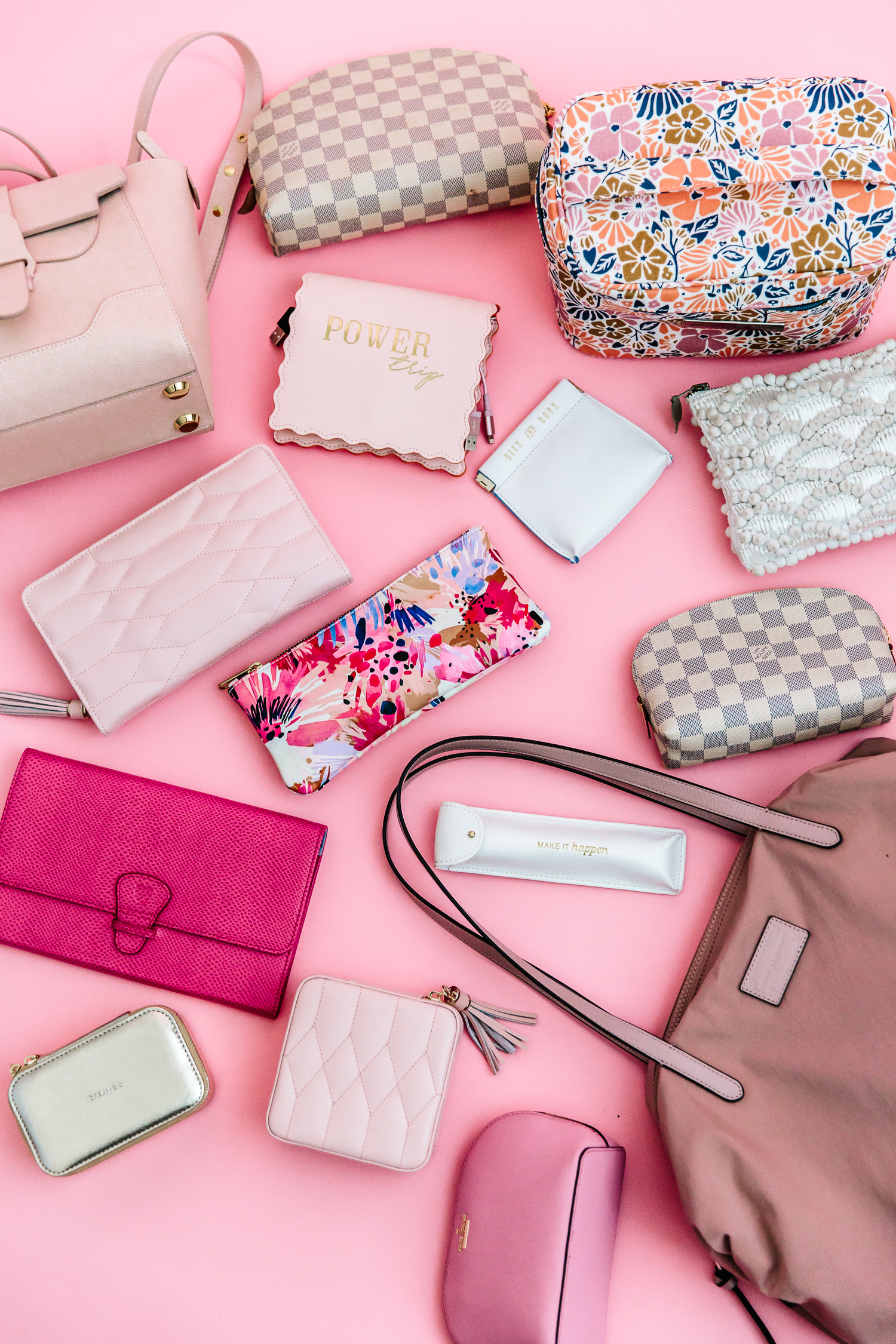 travel bags, aspinal of london, alyson haley, rebecca minkoff, the best travel bags, cosmetic case, senreve