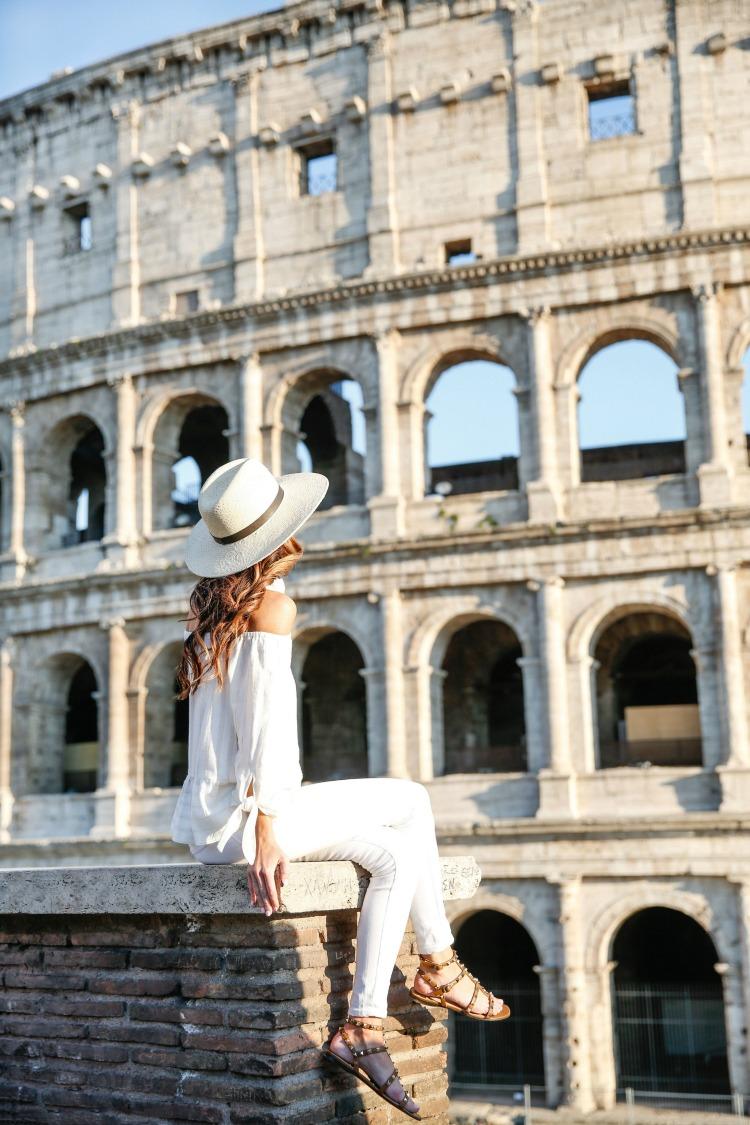 ROME, ITALY, rome travel diary, colosseum
