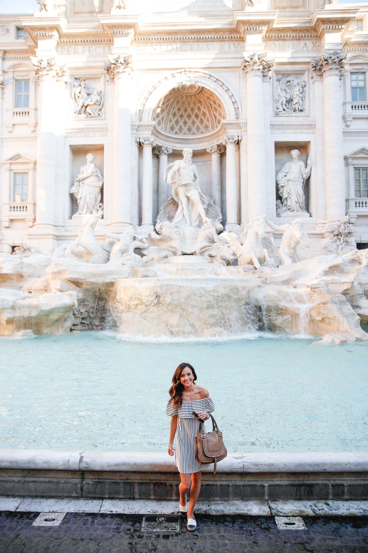 rome, travel diary, italy, trevi fountain, fontana di trevi,