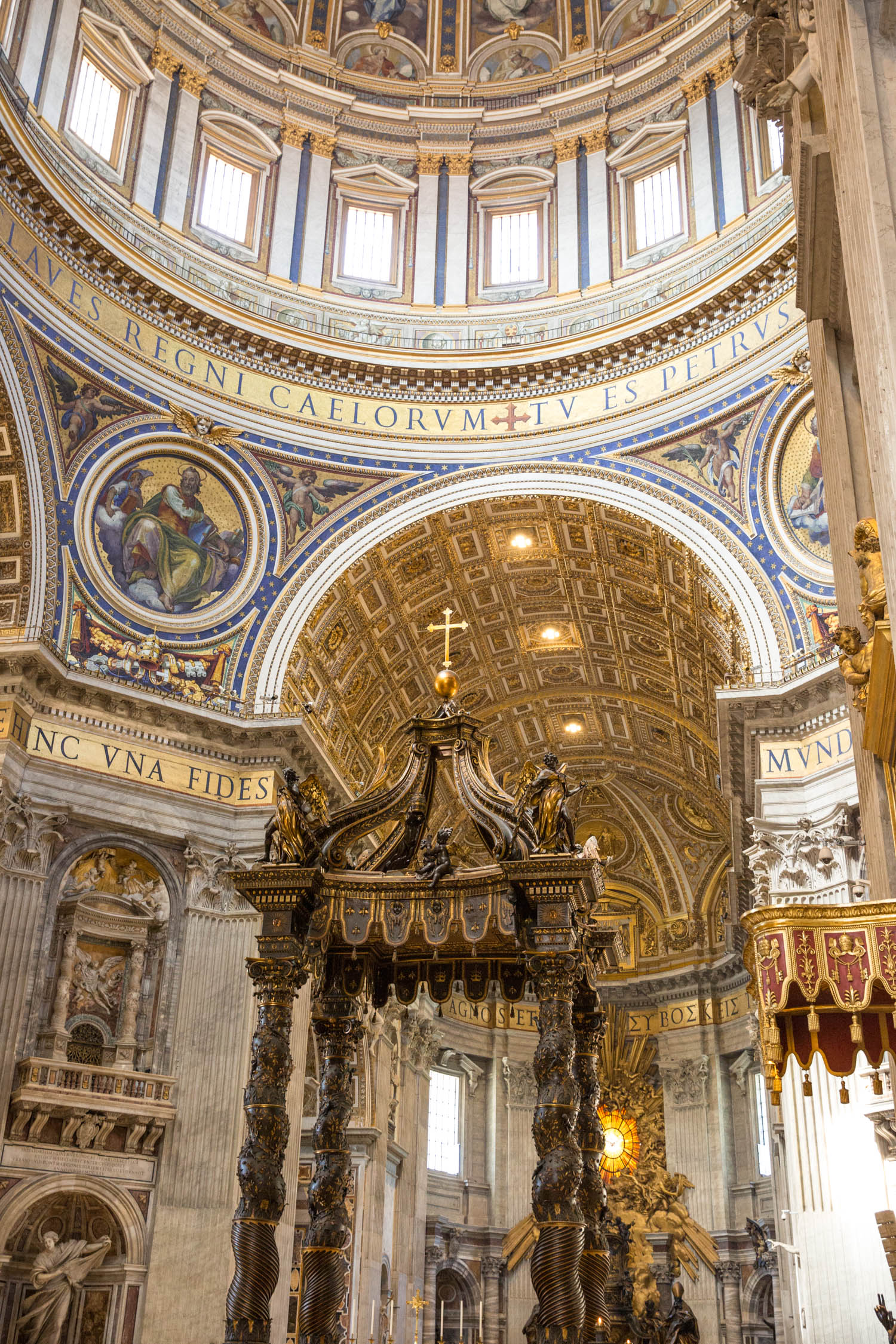 st. peter's basilica, rome, italy, rome travel diary