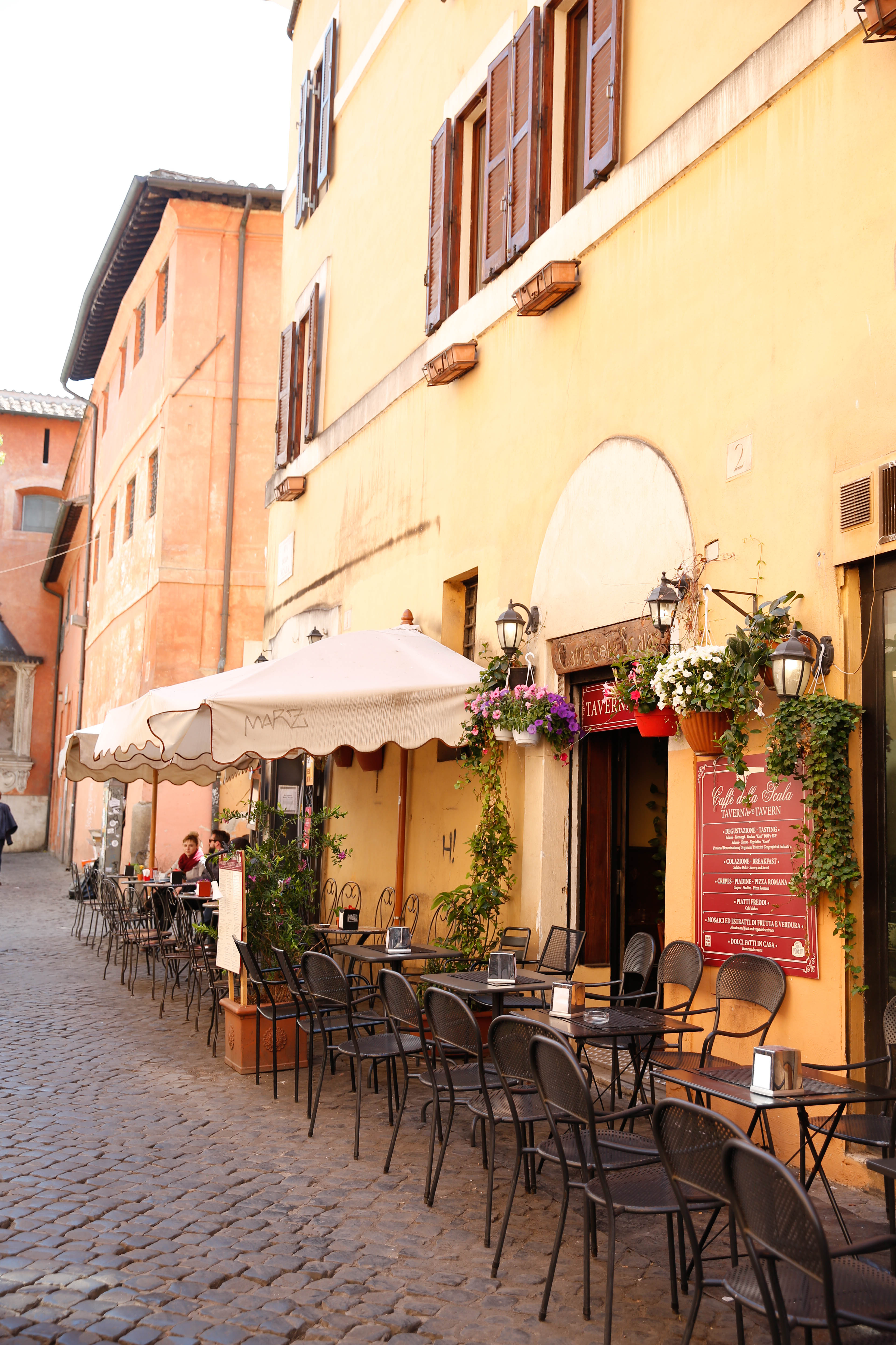 rome travel diary, rome restaurant, where to eat in rome