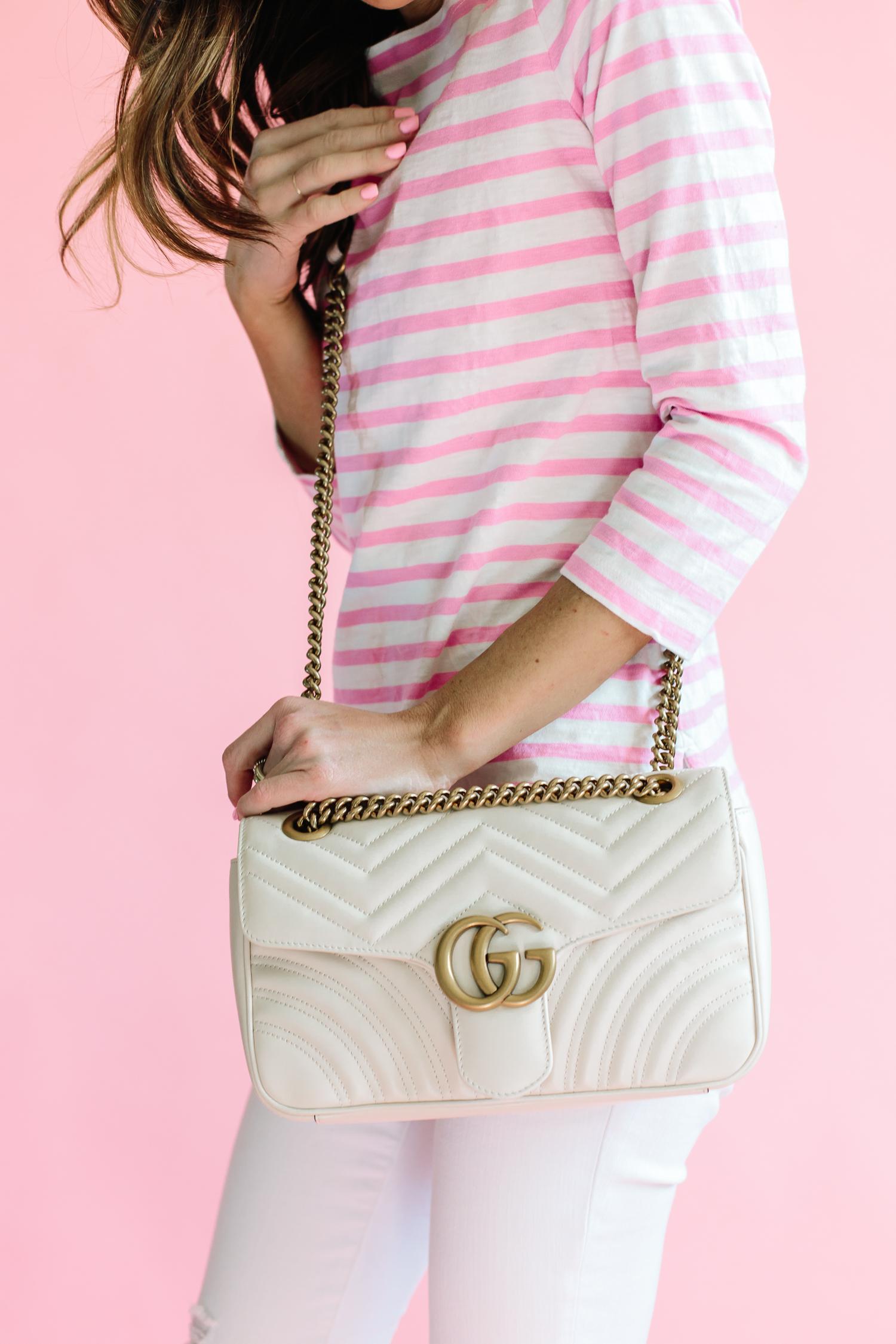 GG Marmont Medium matelassé leather shoulder bag, gucci handbag, gucci handbag review