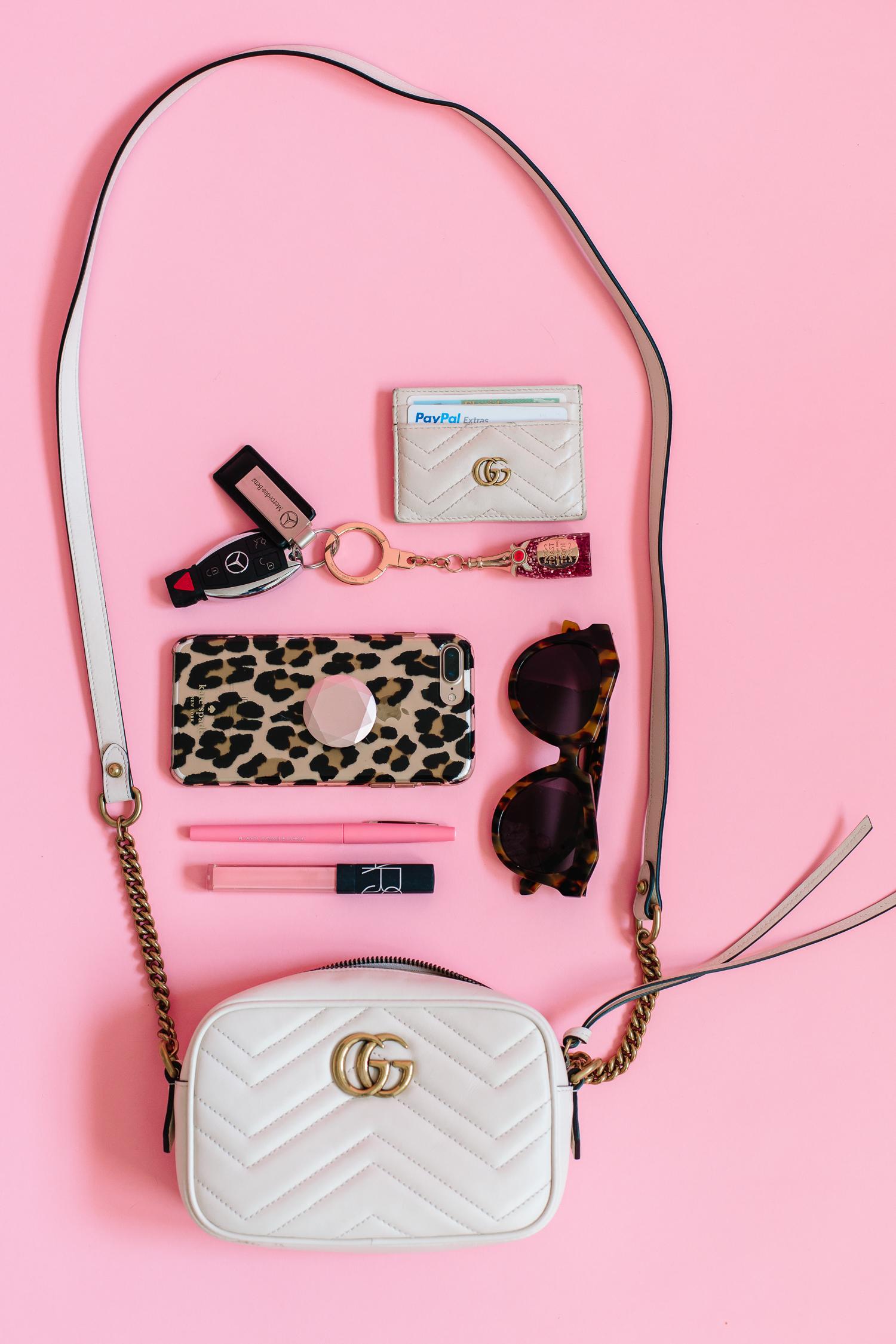 Marmont Mini matelassé leather crossbody bag, gucci handbag review, gucci handbag