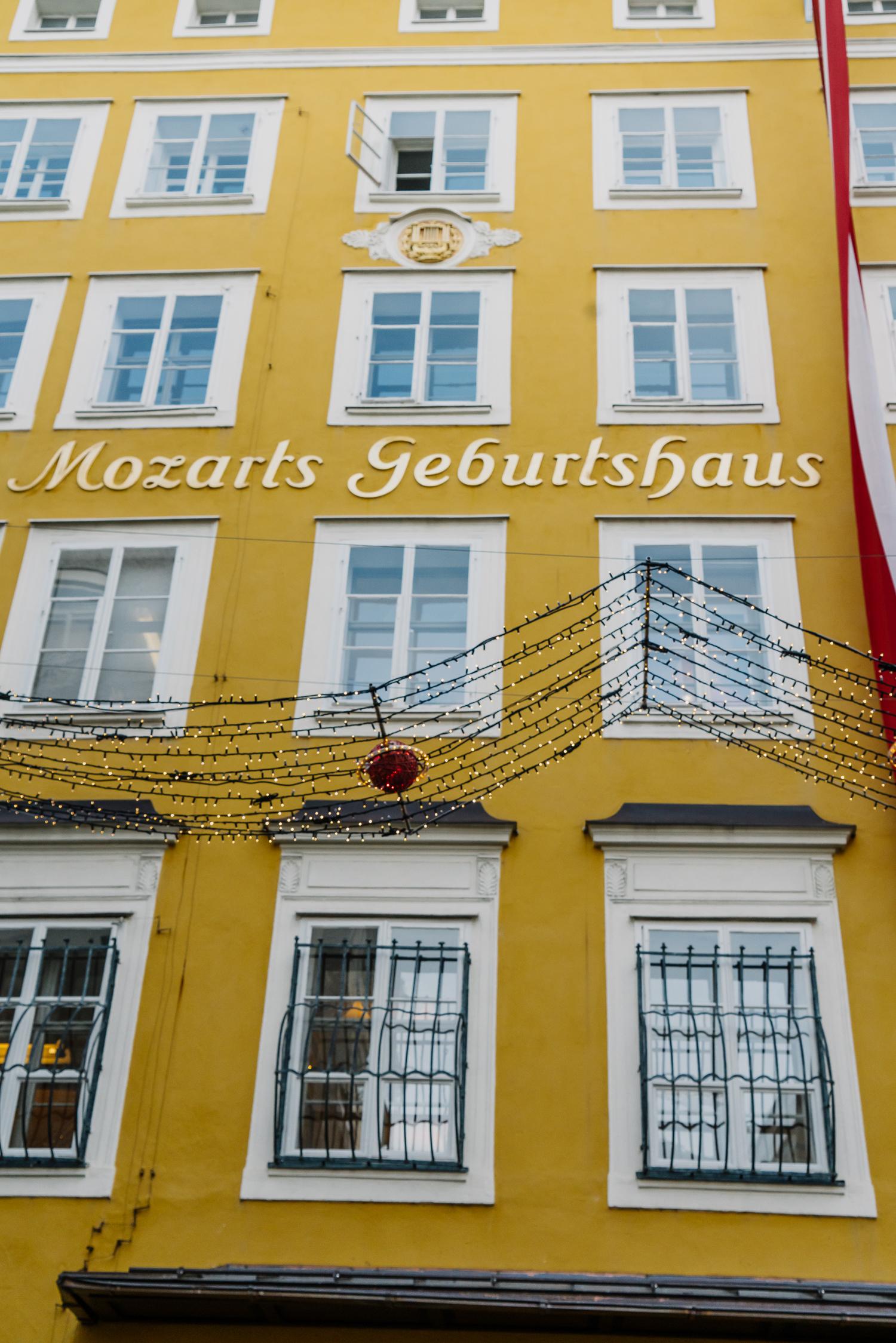 mozart, mozart's birthplace, salzburg, austria, salzburg travel diary