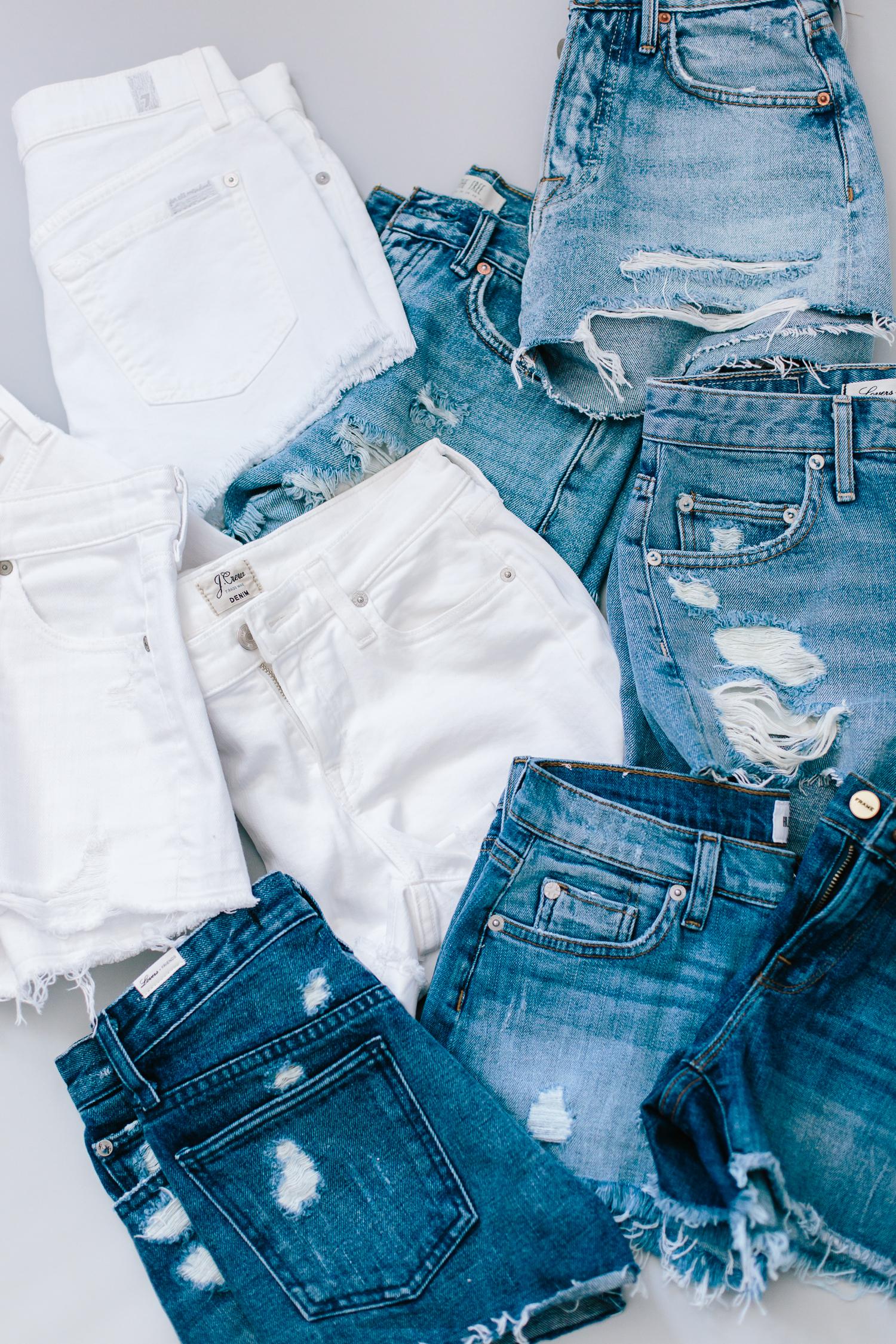 denim shorts, denim short review