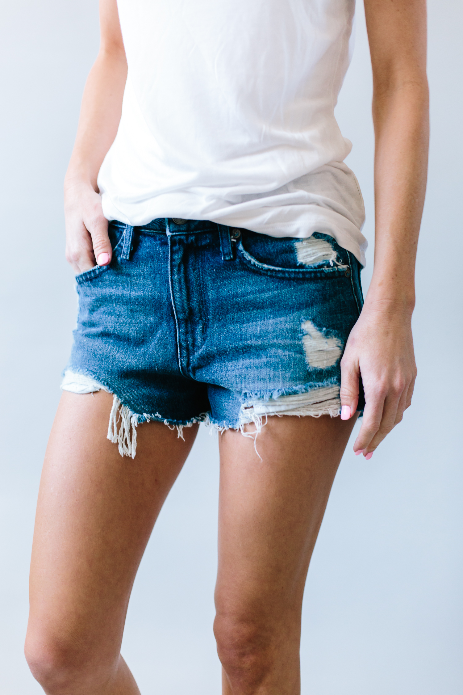 lovers + friends, lovers + friends shorts, distressed denim shorts, shorts review, spring denim, spring denim shorts review, summer denim, summer denim shorts