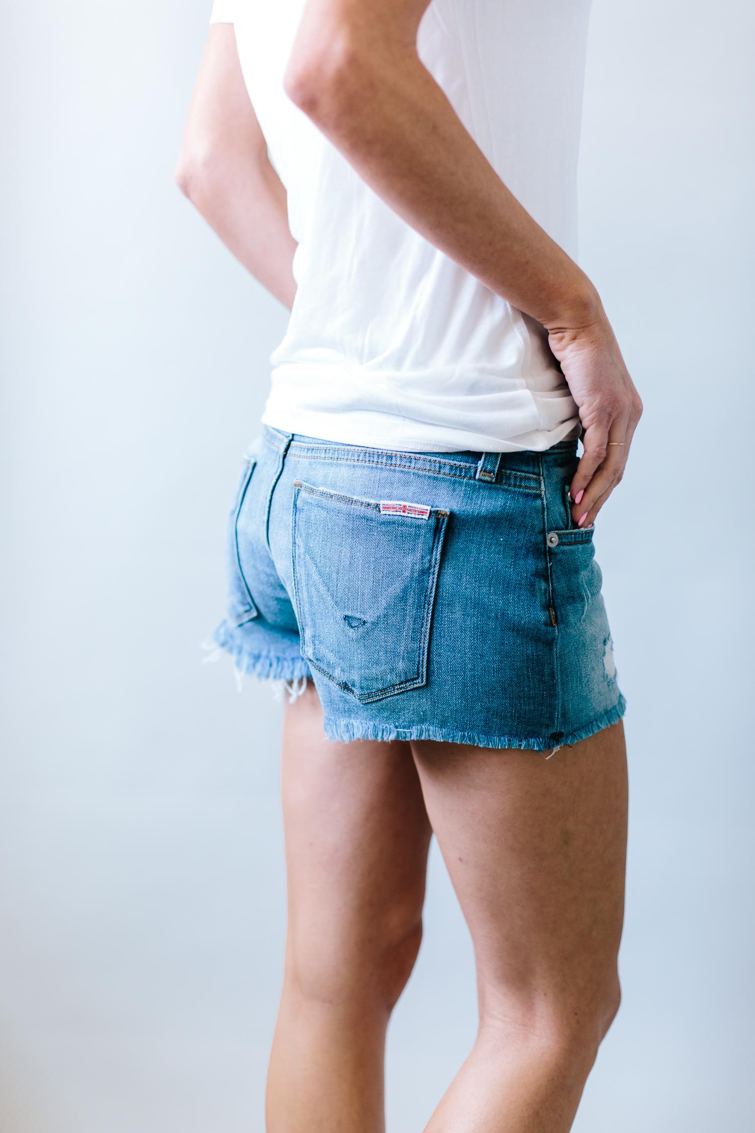 denim cutoff's, denim shorts, denim shorts review, summer shorts