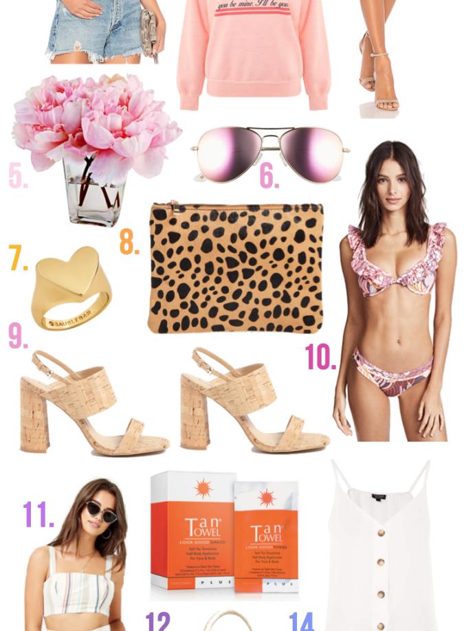 spring fashion, spring things under $100