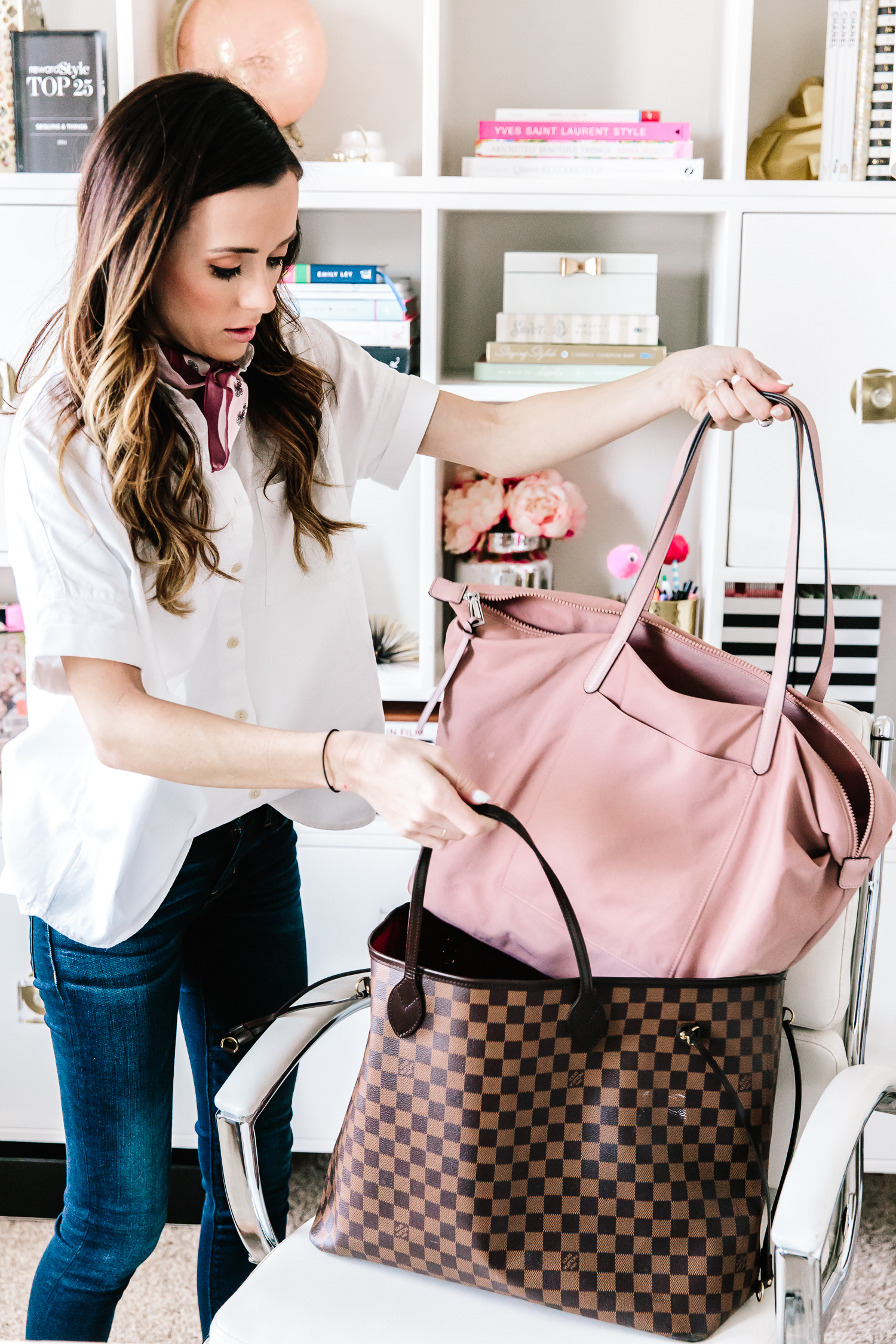 rebecca minkoff, louis vuitton, travel bags, travel tips, what to pack in a carry on