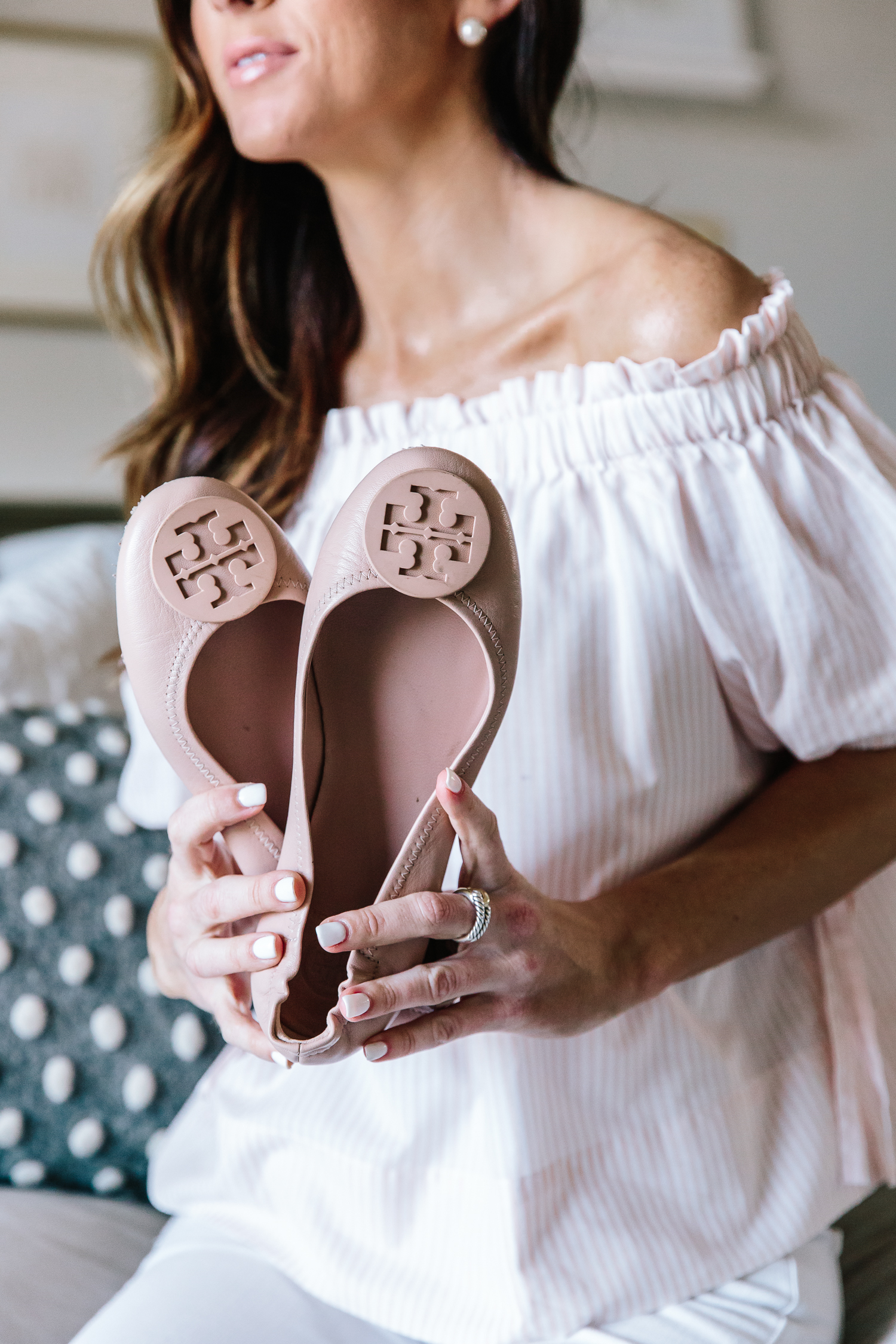 tory burch, tory burch minnie flats, spring shoe review