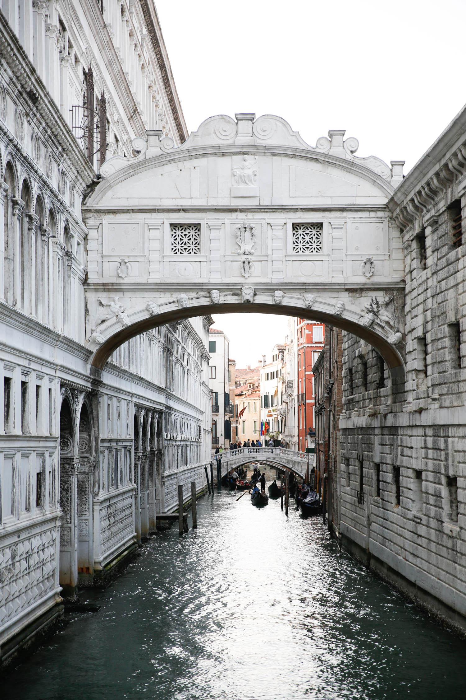 venice, italy, venezia, venice travel diary, alyson haley, bridge of sighs