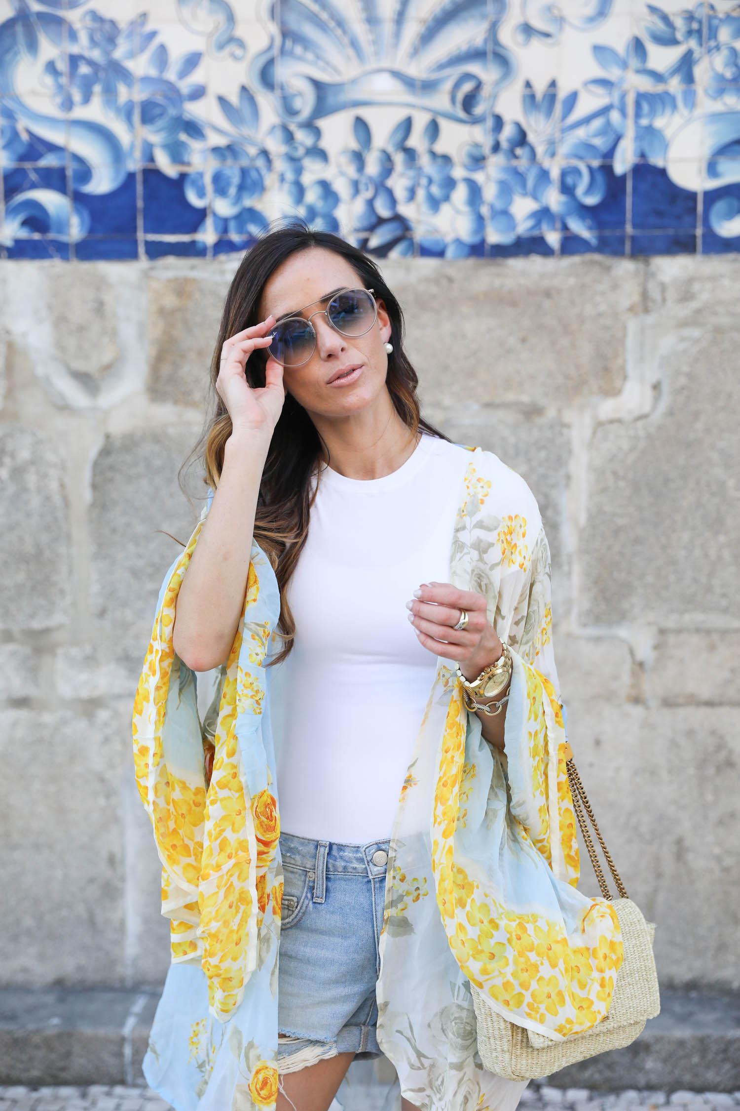 ray-ban round double-bridge sunglasses, sunglasses, sunglasses 2018, mytheresa.com, porto, portugal