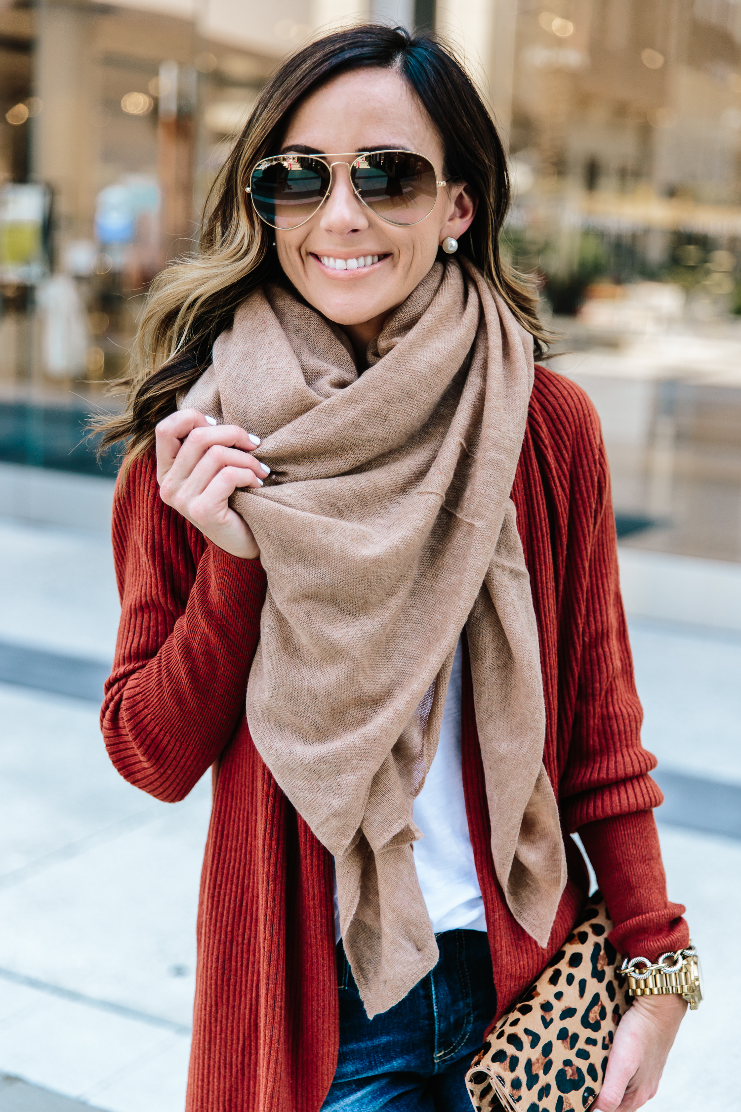 Nordstrom Anniversary Sale cashmere scarf
