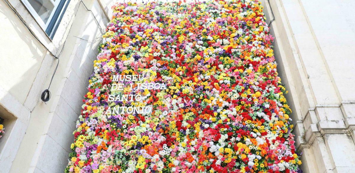 lisbon, portugal, flower wall, fourth of july sales