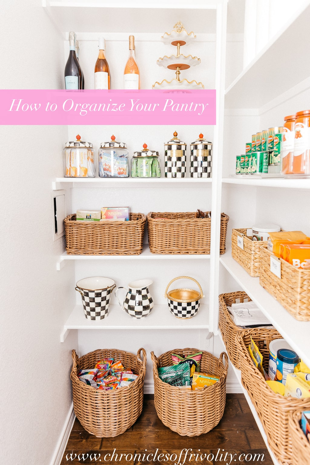 How To Organize Your Kitchen Pantry | Alyson Haley