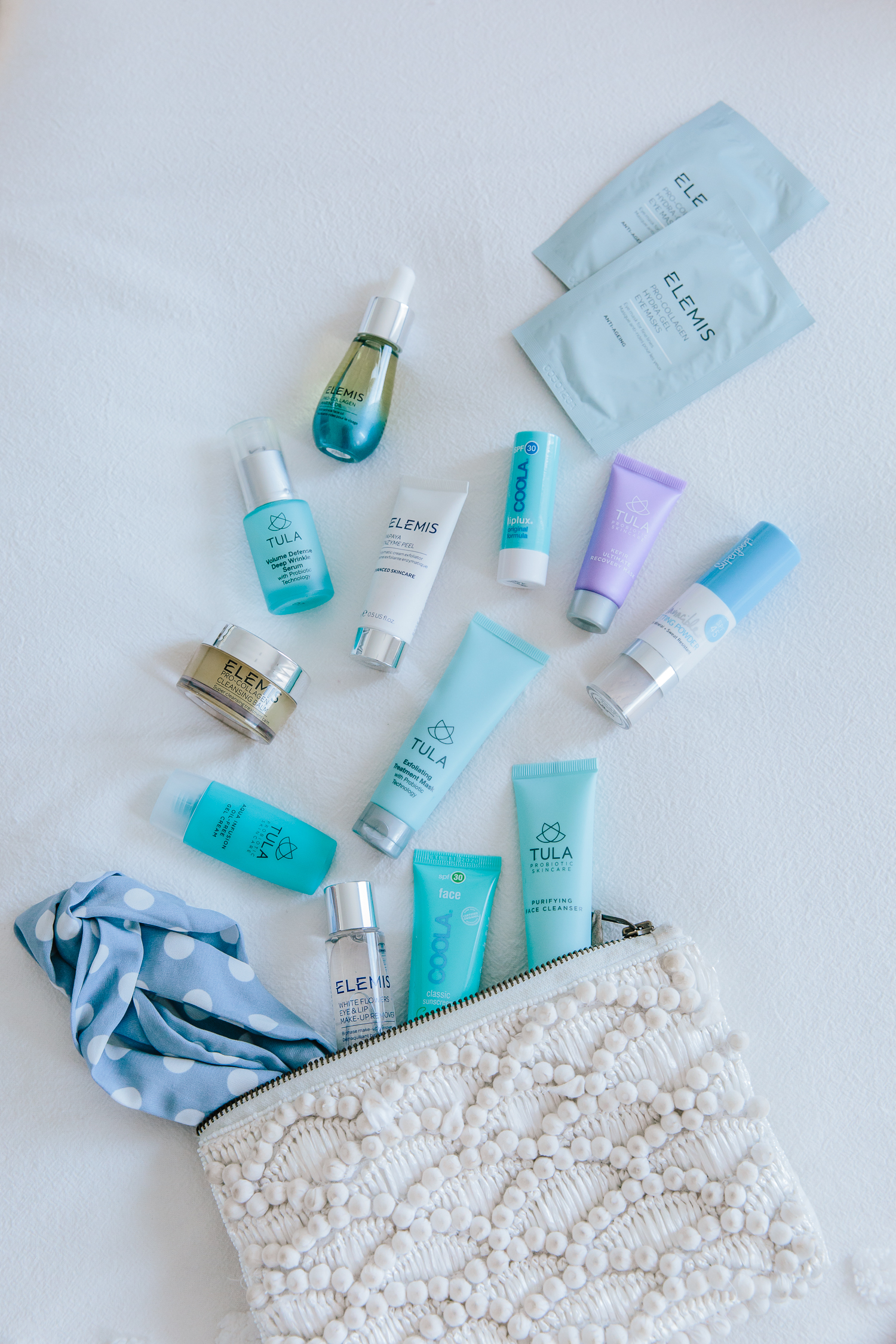 travel skincare products