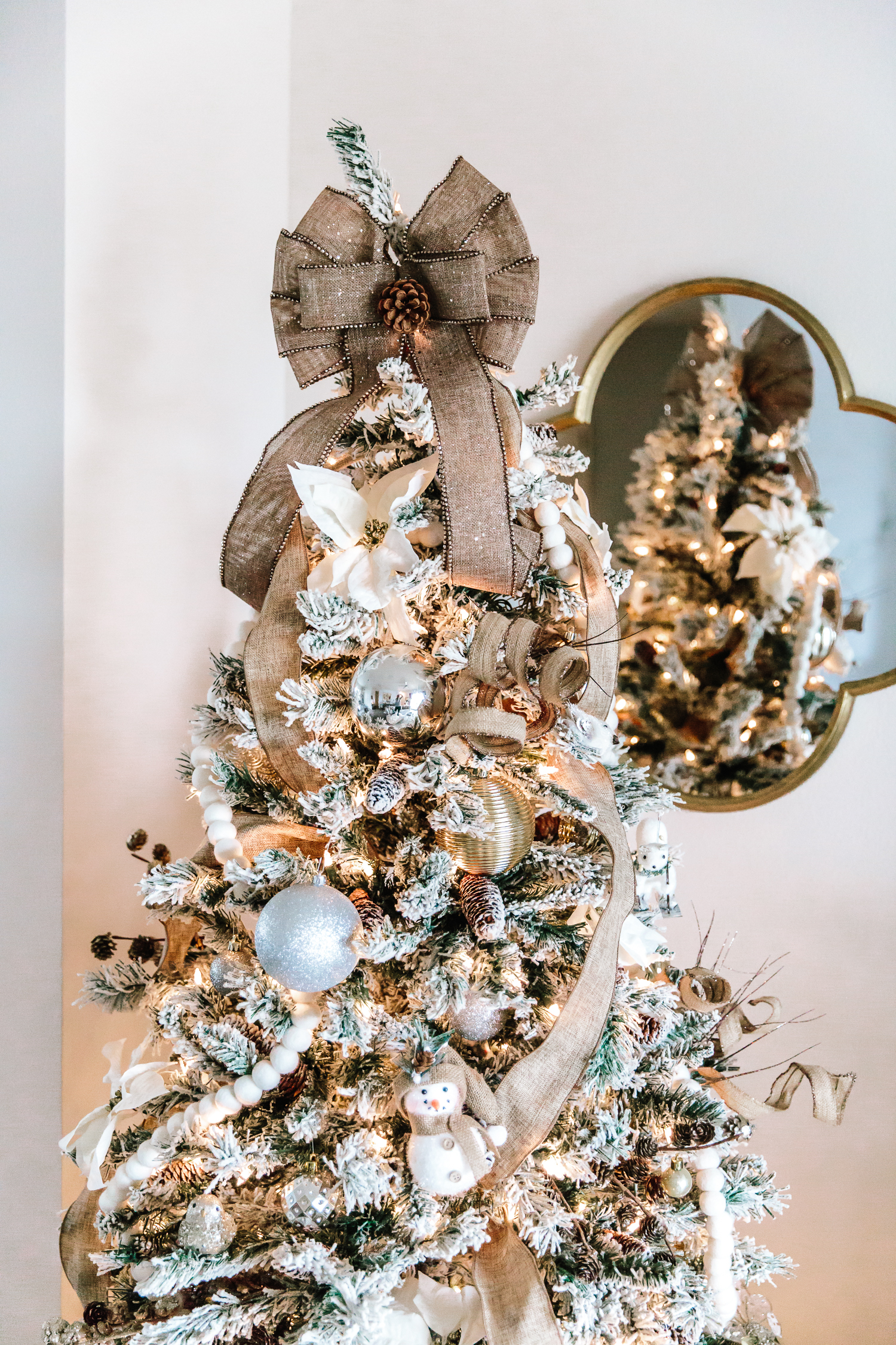 How I Decorated My Christmas Tree For Less Alyson Haley