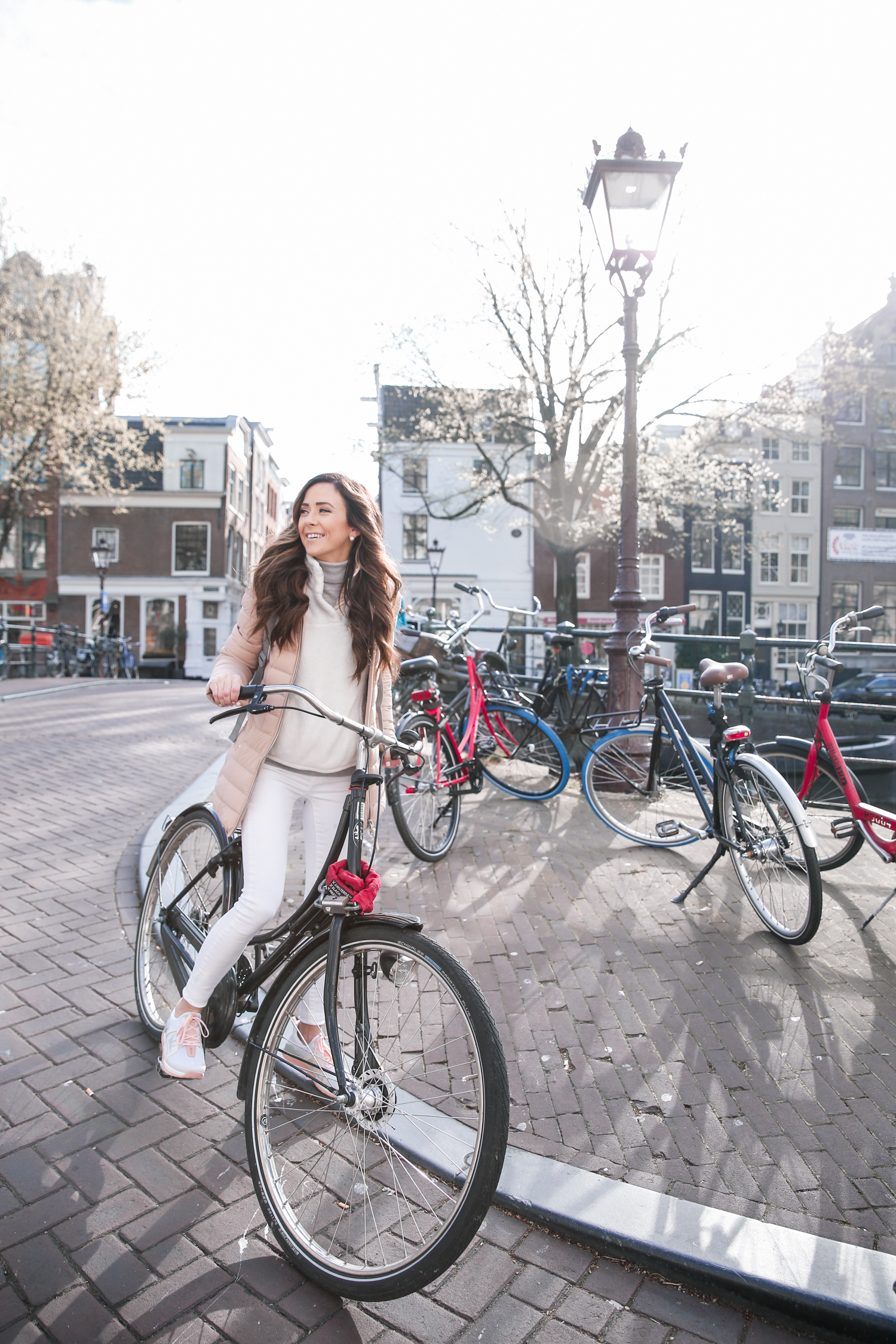 amsterdam, biking in amsterdam, what to wear in amsterdam