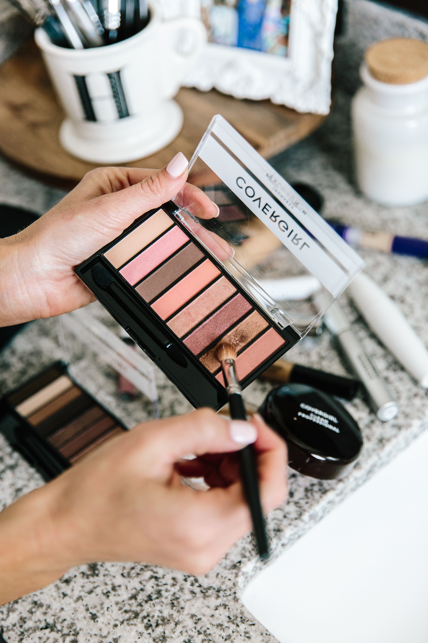 drug-store makeup