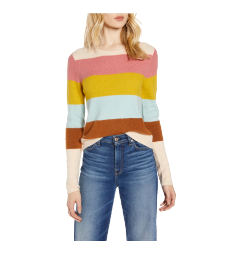 striped sweater in nordstrom anniversary sale 2019