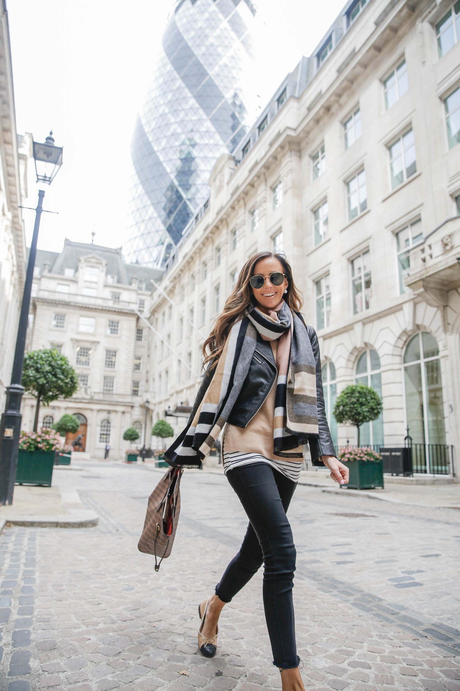 cashmere sweater in london for fall
