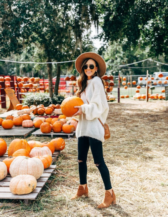 What to Wear to a Pumpkin Patch This Weekend