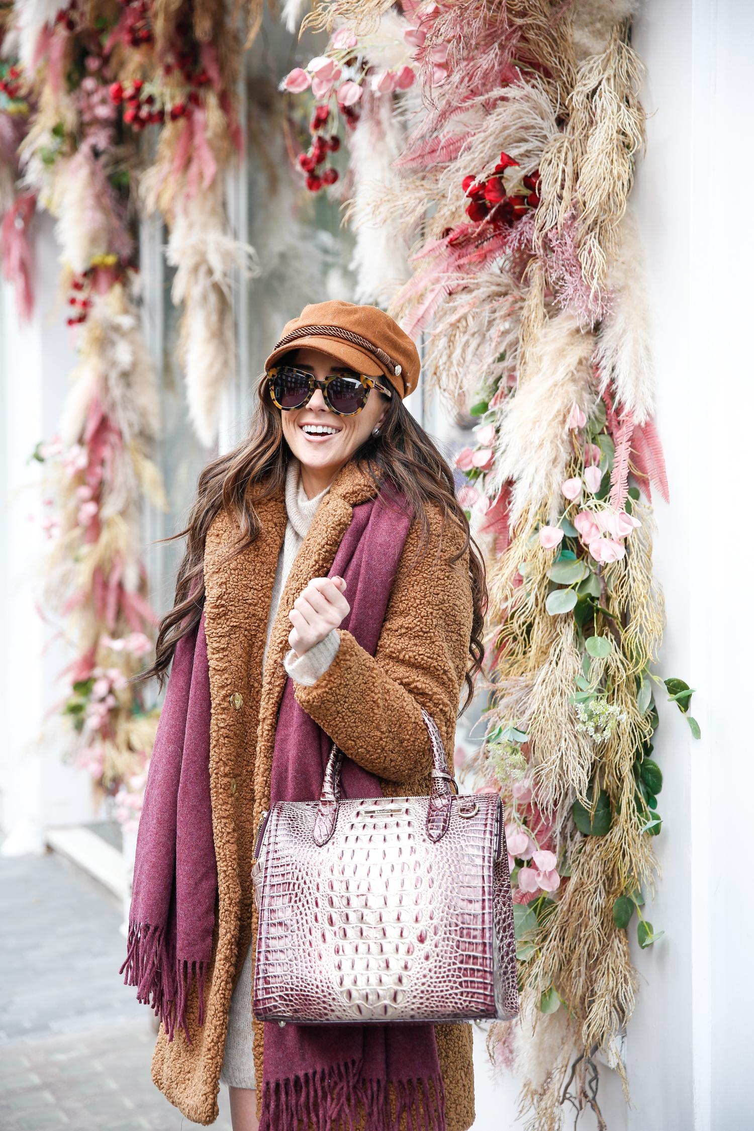 brahmin holiday collection handbag