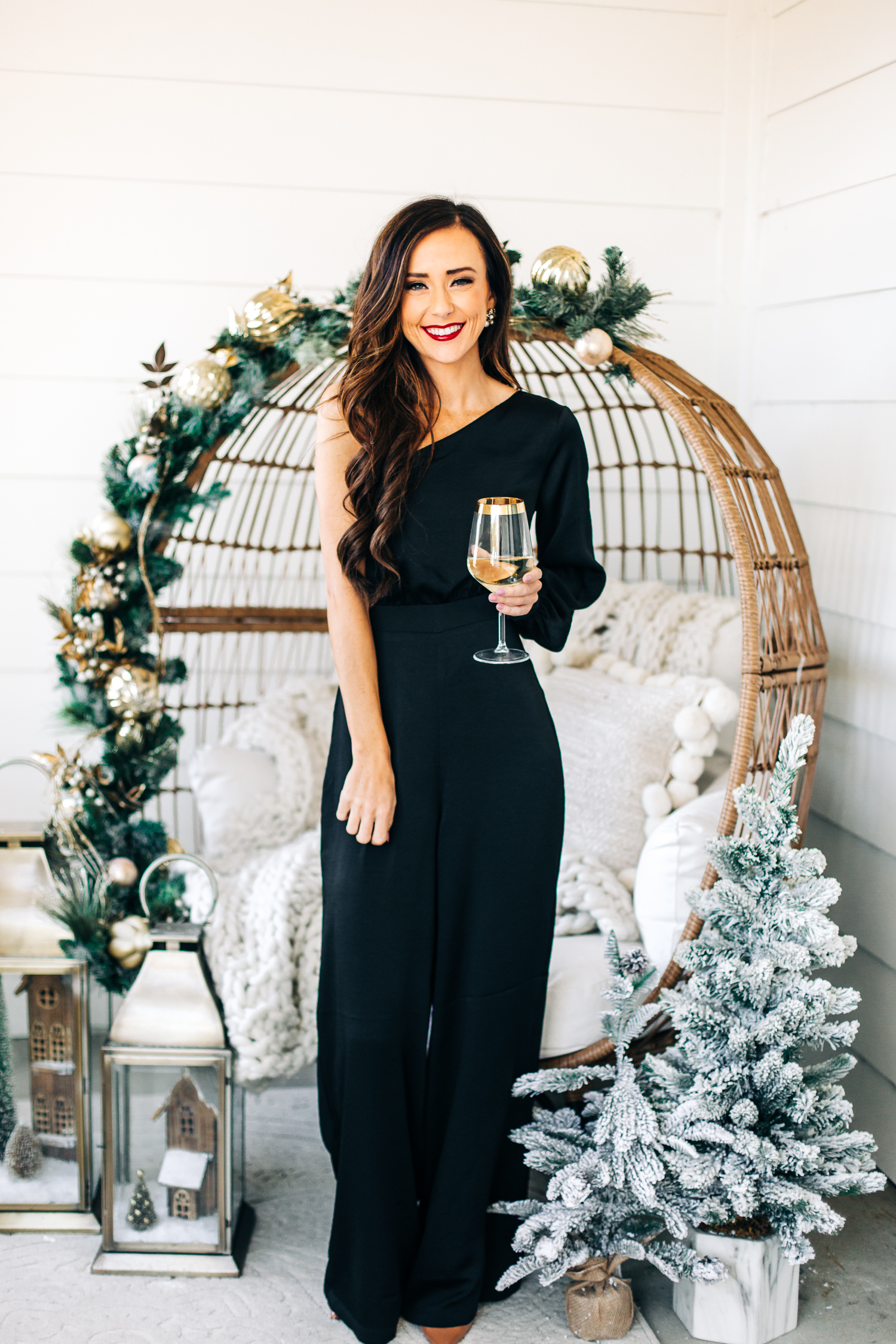 holiday party outfit idea