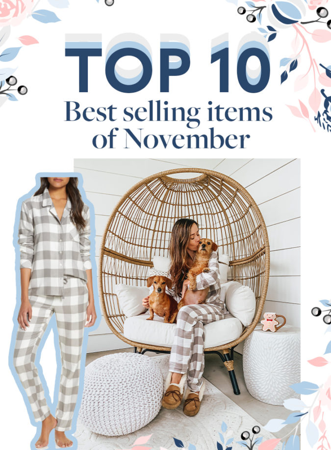 Top Ten Best Selling Items of November