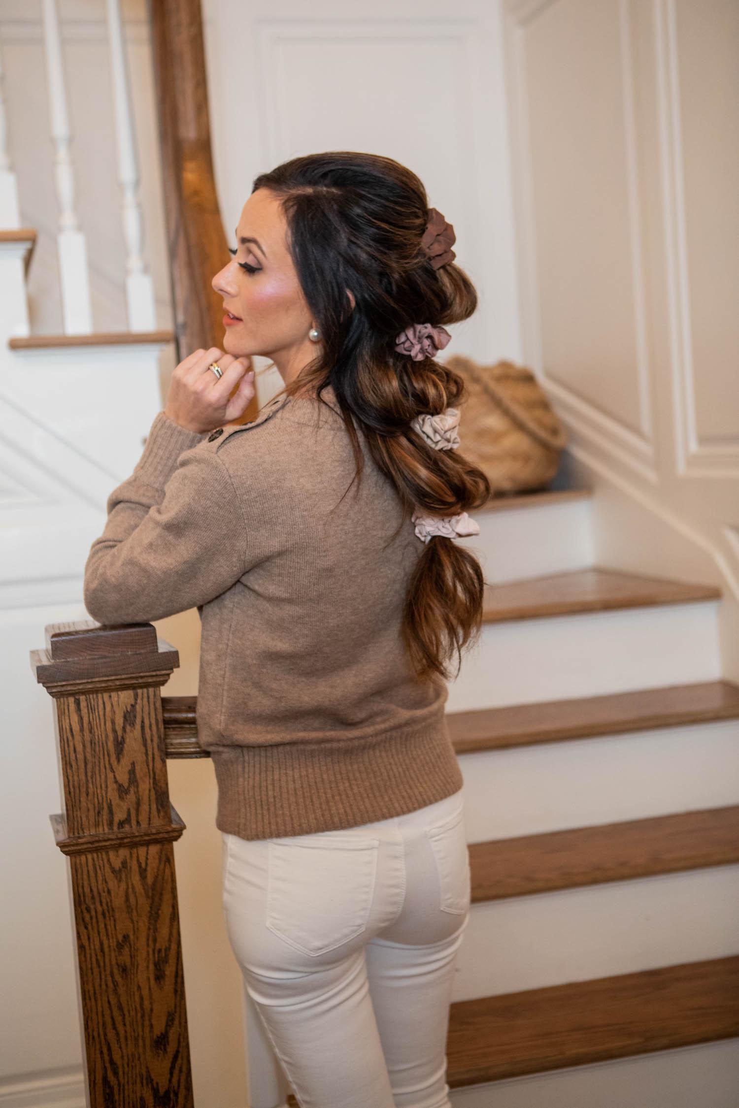 scrunchies, hair accessories